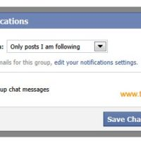 Stop receving chat messages in your Facebook inbox.