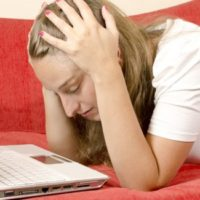 Too much involvement in online social activities can be cause of great stress.