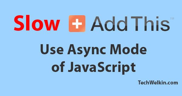Asynchronous loading of JavaScript can make your website load faster.