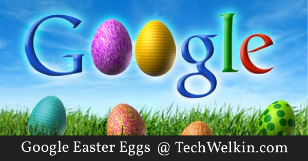 Google has introduced some very amusing Easter eggs in their products.