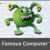 List of the Most Famous and Dangerous Computer Viruses and Worms.