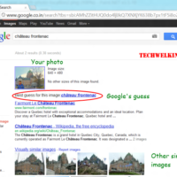 Google has correctly guessed the location where photo was taken