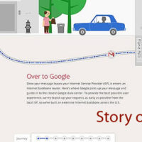 Story of Send shows you how your Gmail message travels.