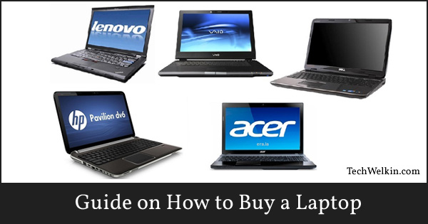 A laptop should be bought after proper research and consideration.
