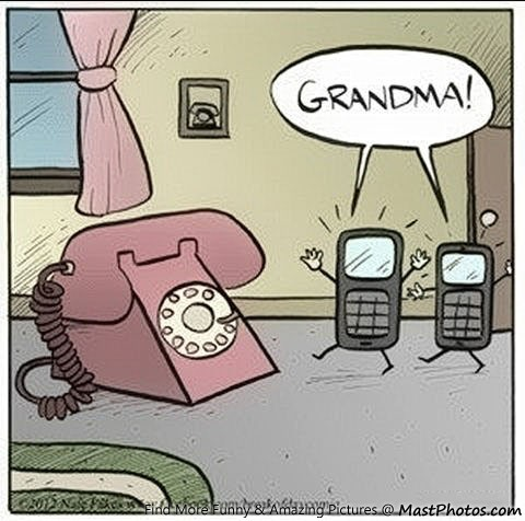 Gone are the days of fixed line telephones!