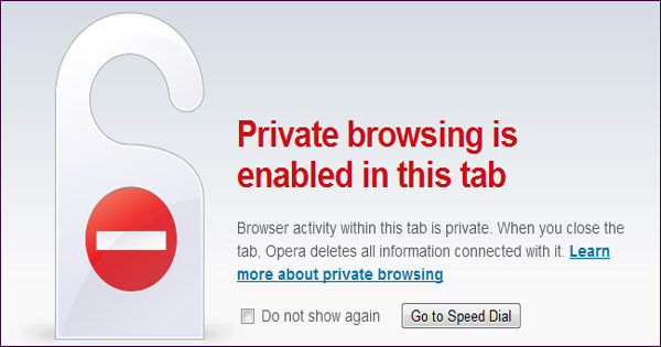 Is incognito browsing safe?