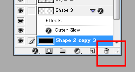 Photoshop Delete/Trash Button
