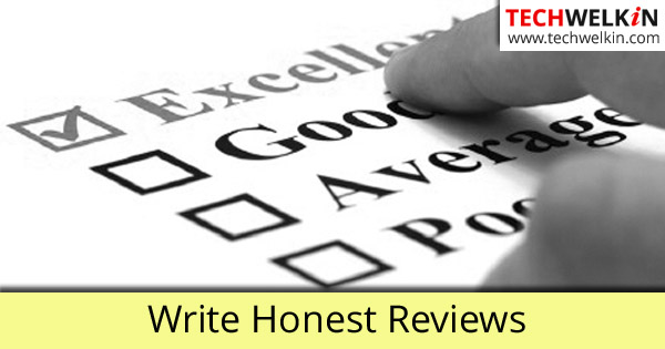 Learn How to Write Good Reviews. It helps you to earn from blogging.