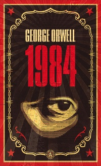 George Orwell's 1984 tops the list.