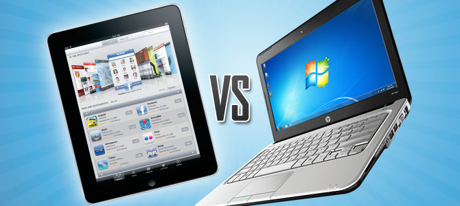 Laptop vs. Tablet