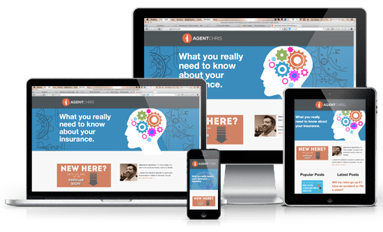 Website theme should be responsive and mobile-friendly.