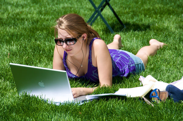 Freelance writing is a great way to work while you relax!
