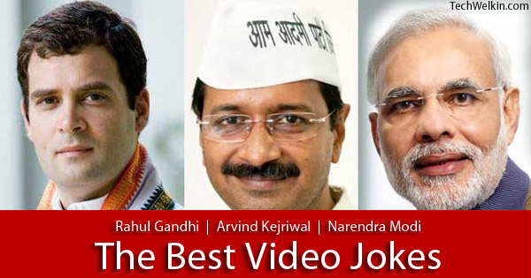 Modi vs. Rahul vs. Kejriwal: Funny Jokes on Election Politics