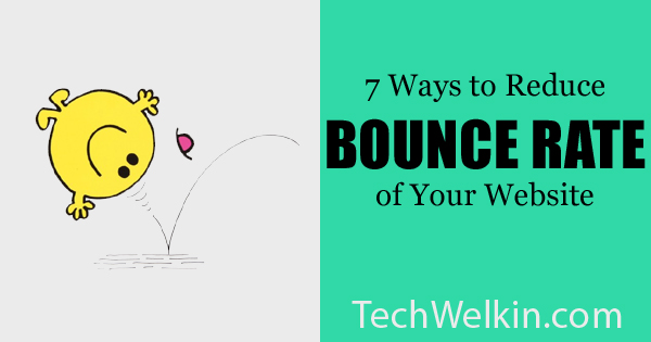 Don't let visitors to bounce off from landing page.