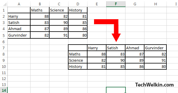 Reverse Letters In Word Excel
