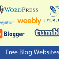 A great number of free blog sites are available nowadays. Take your pick!
