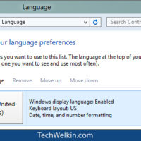 Windows 8: Change Keyboard Layout