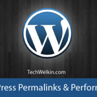 WordPress permalink structure has no effect on performance