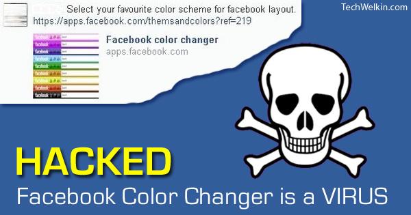 Facebook Color Changer is a malware.