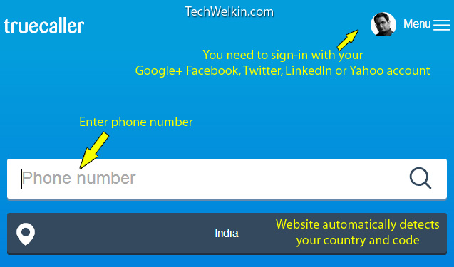 TrueCaller: Find Unknown Mobile Number Details and Name