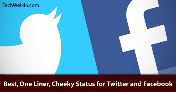 Excellent short status messages for Twitter and Facebook.