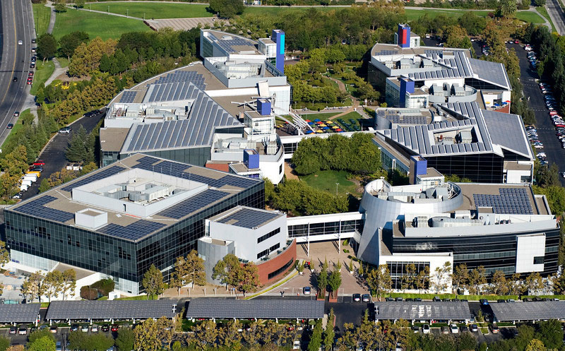 Googleplex is the company headquarters of Google in  Mountain View, California, U.S.