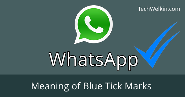 Meaning of WhatsApp Blue Ticks is that your message has been seen by the recipient.