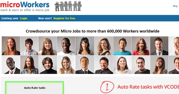 Micro jobs at Micro Workers! Get on board and do online work from home.