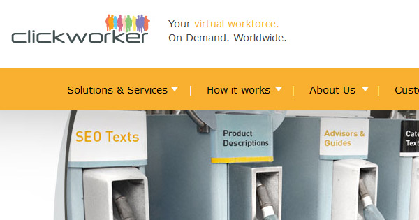 Small online jobs are available on ClickWorker.