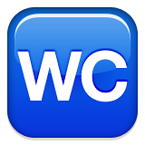 WC WhatsApp Symbol