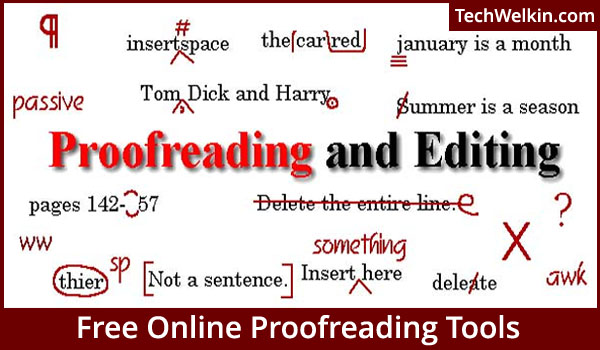 How can I get a free proofreader?