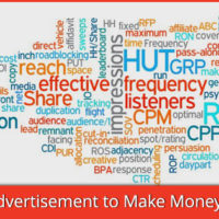 Advertisements on websites and blogs are a great way of earning money. You can use various ad networks based on various models like CPM, CPC, CPA and CPS.