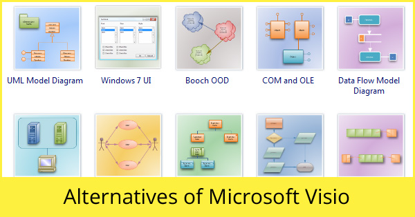 Some great replacements of Microsoft Visio.