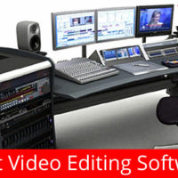 List of best video editing tools. It includes both free for download as well as professional software.
