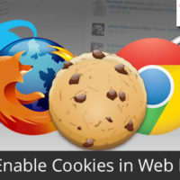 Enabling cookies in your browser is sometimes important to avoid login problems.
