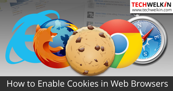 Enable cookies in firefox chrome safari ie opera android Browser cookies