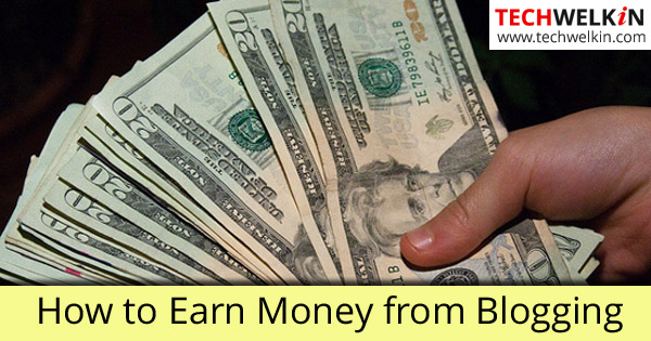 You can Make Money from Blogging!