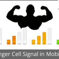 Boost signal in mobile phone. Get stronger cell signal.