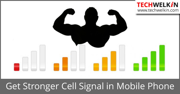 Boost Mobile Phone Signal: Increase dBm Tower Strength