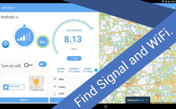 OpenSignal app can help you finding signal information and locating cell towers. Thus it helps you to boost mobile signal
