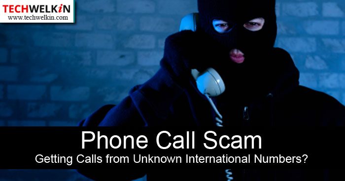 getting calls from unknown numbers? one ring scam.