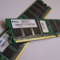 Random Access Memory (RAM) chips.