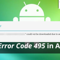 Fixing error 495 in Android.