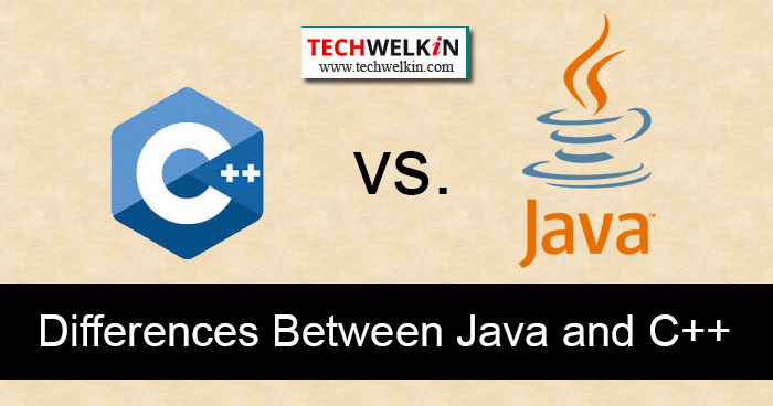 difference between java and c++