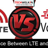difference between LTE and VoLTE