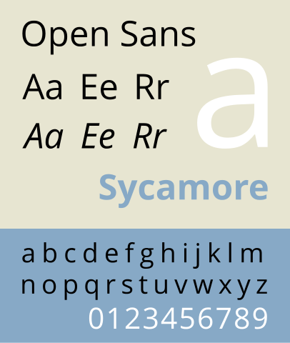 best fonts for websites: Open Sans