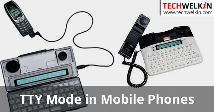 what is tty mode in mobile phones