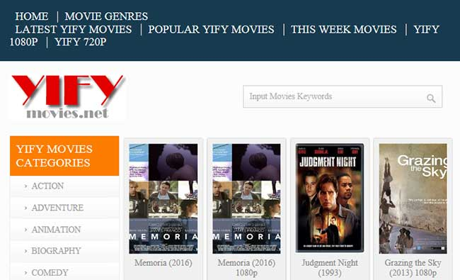 best torrent websites yify
