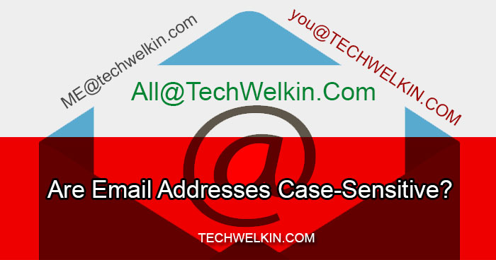 Are Email Addresses Case Sensitive?