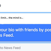 Cool Facebook bio one liners